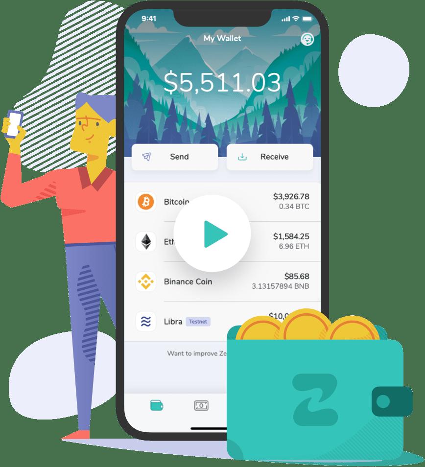 ZenGo - Bitcoin & Cryptocurrency Wallet