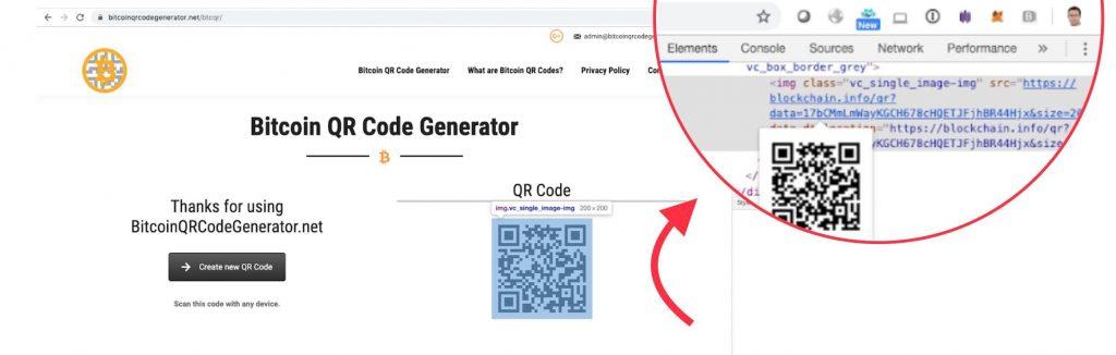bitcoin qr kodas)
